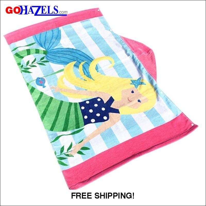 6 Beach Foamie Surf Board Gohazels Com Towel Wrap Mermaid