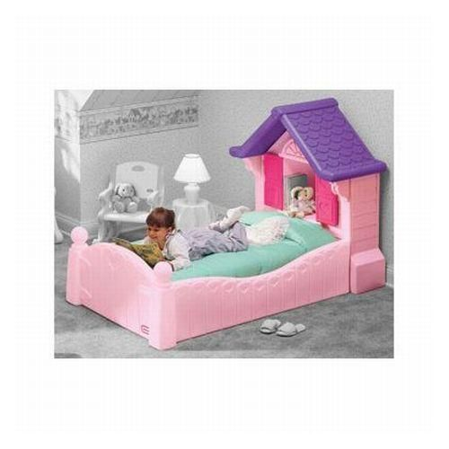Little Tikes Princess Cozy Cottage Toddler Bed Pink With Mattress