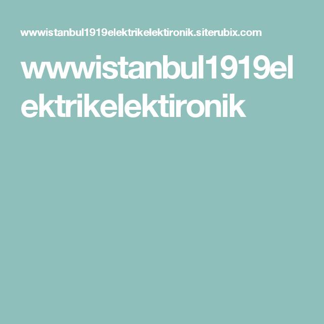 wwwistanbul1919elektrikelektironik