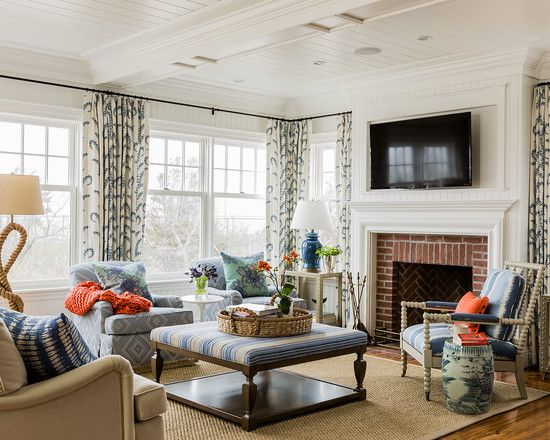 Get A Cute Interior Design With Boston Interior Beach Style Mesmerizing Living Room Boston Design Inspiration
