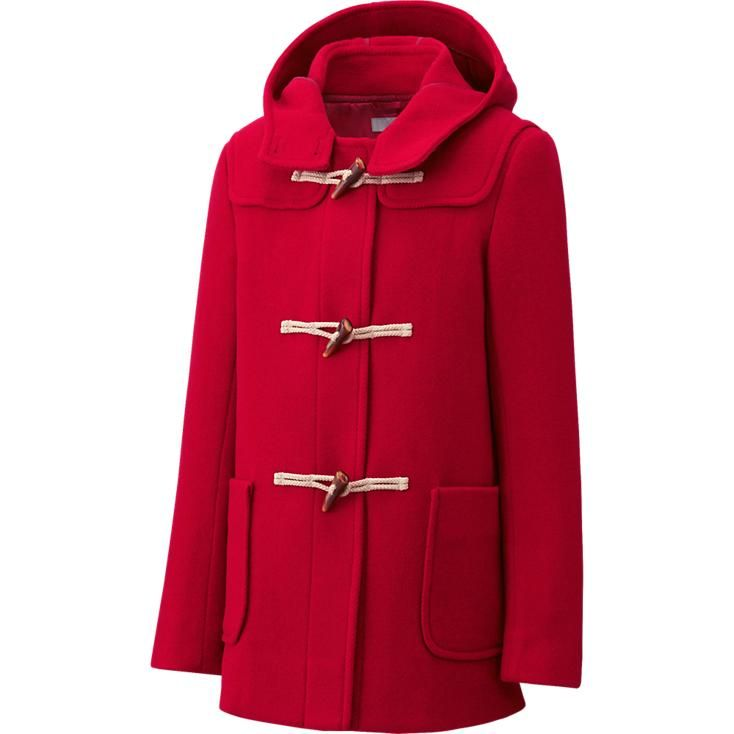 UNIQLO - WOMEN WOOL BLENDED DUFFLE COAT $100 | Winter Coats ...