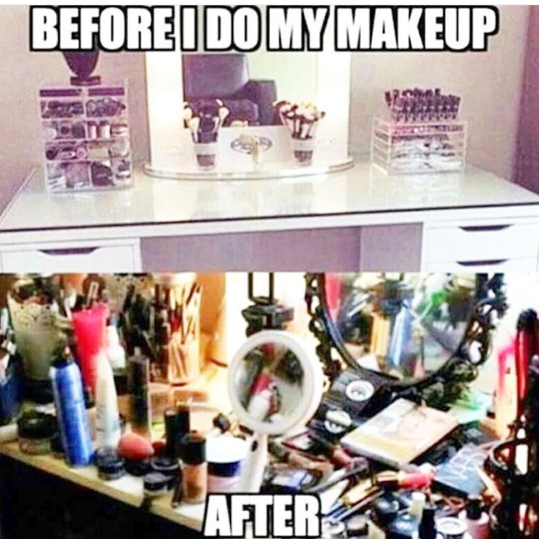 Haha truth Beauty memes, Makeup memes, Funny makeup memes