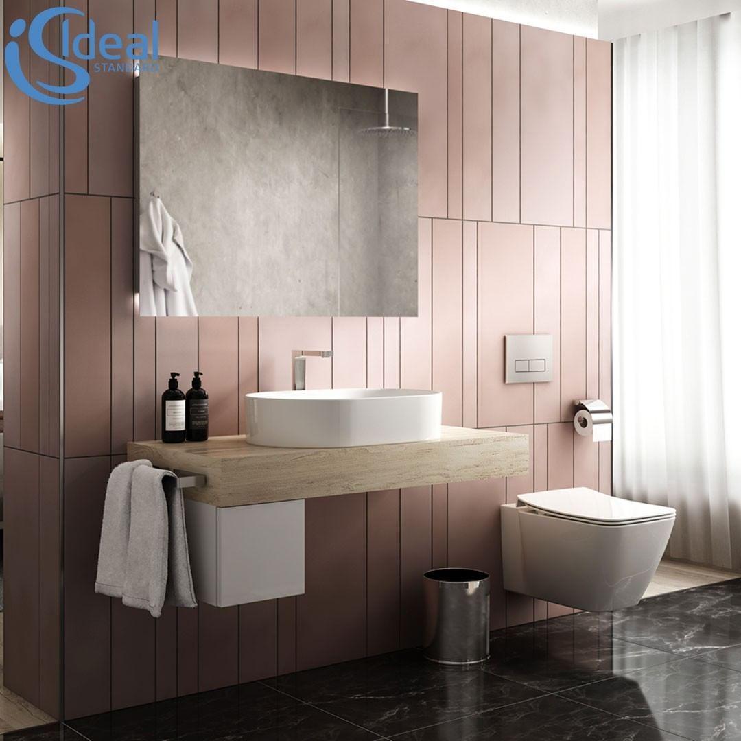 Perfekt Aufeinander Abgestimmt Die Serien Strada Ii Und Adapto Badezimmer Badezimmerdesign Badezimmerdeko Badideen Bathroom Bathroom Vanity Vanity Bathroom