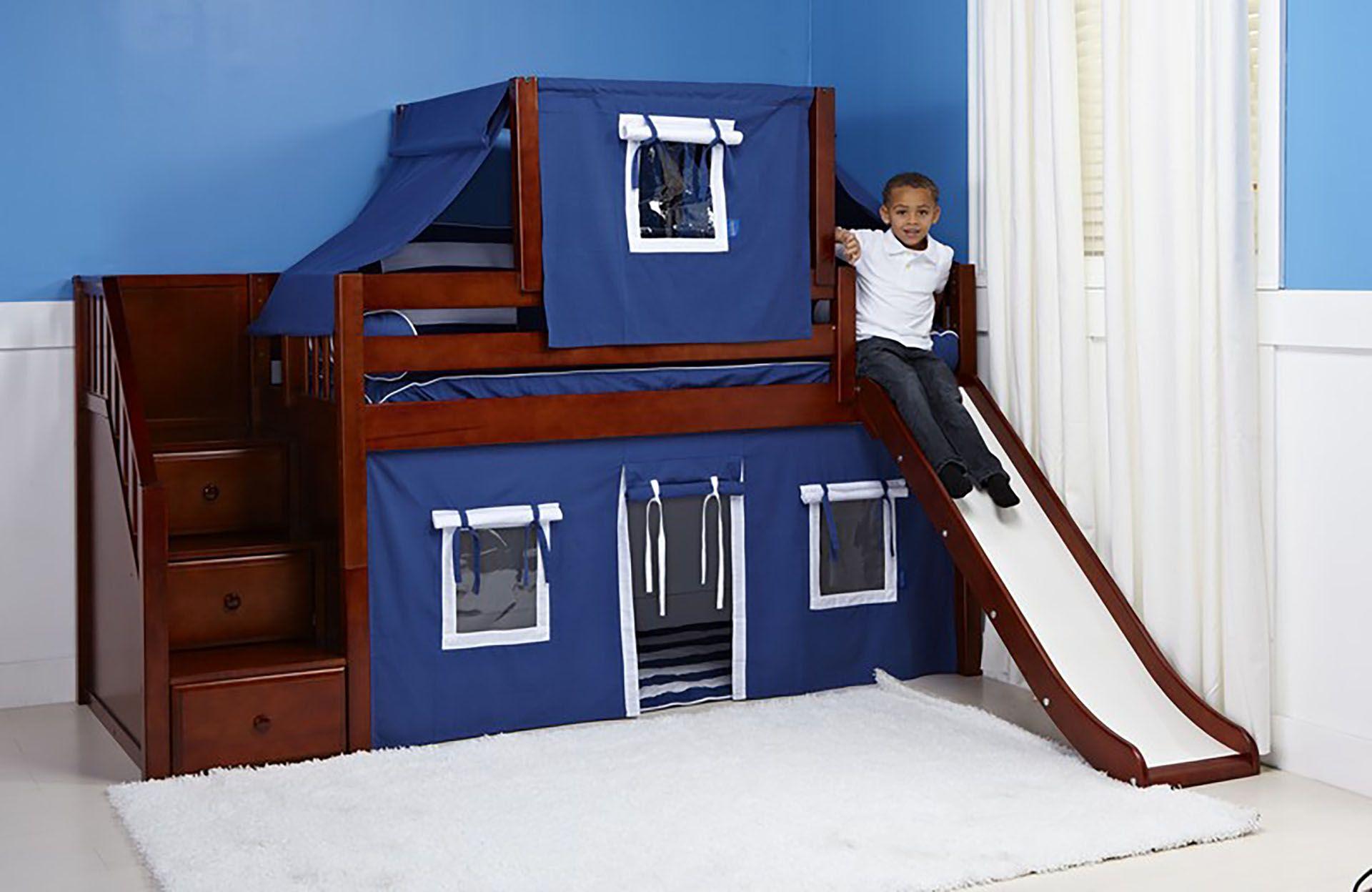 Etagenbett Mit Treppe Und Rutsche : Kinderbett mit rutsche und treppe u das beste von etagenbett