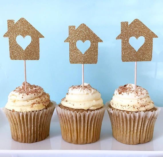 Housewarming Cupcake Toppers - Housewarming Party Decor - House Cupcake Toppers - Welcome Hom... Housewarming Cupcake Toppers - Housewarming Party Decor - House Cupcake Toppers - Welcome Home Party,