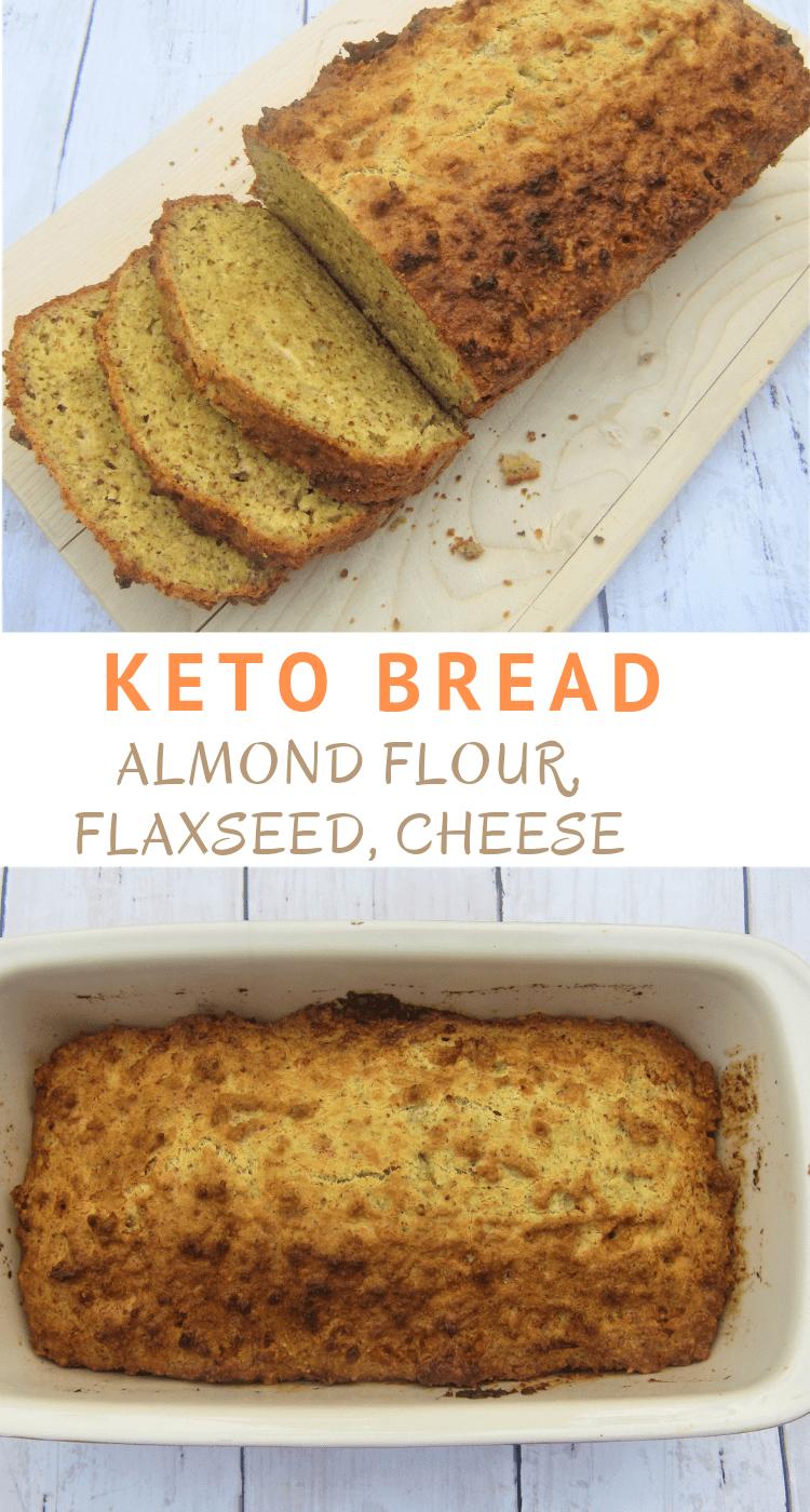 Almond Flour Flaxseed Cheese Keto Bread Almond Flour Keto Bread Keto Friendly Bread