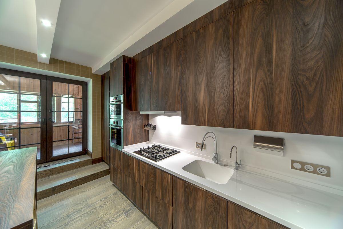 Beautiful Veneer Kitchen Cabinet Doors | Wood kitchen ...
