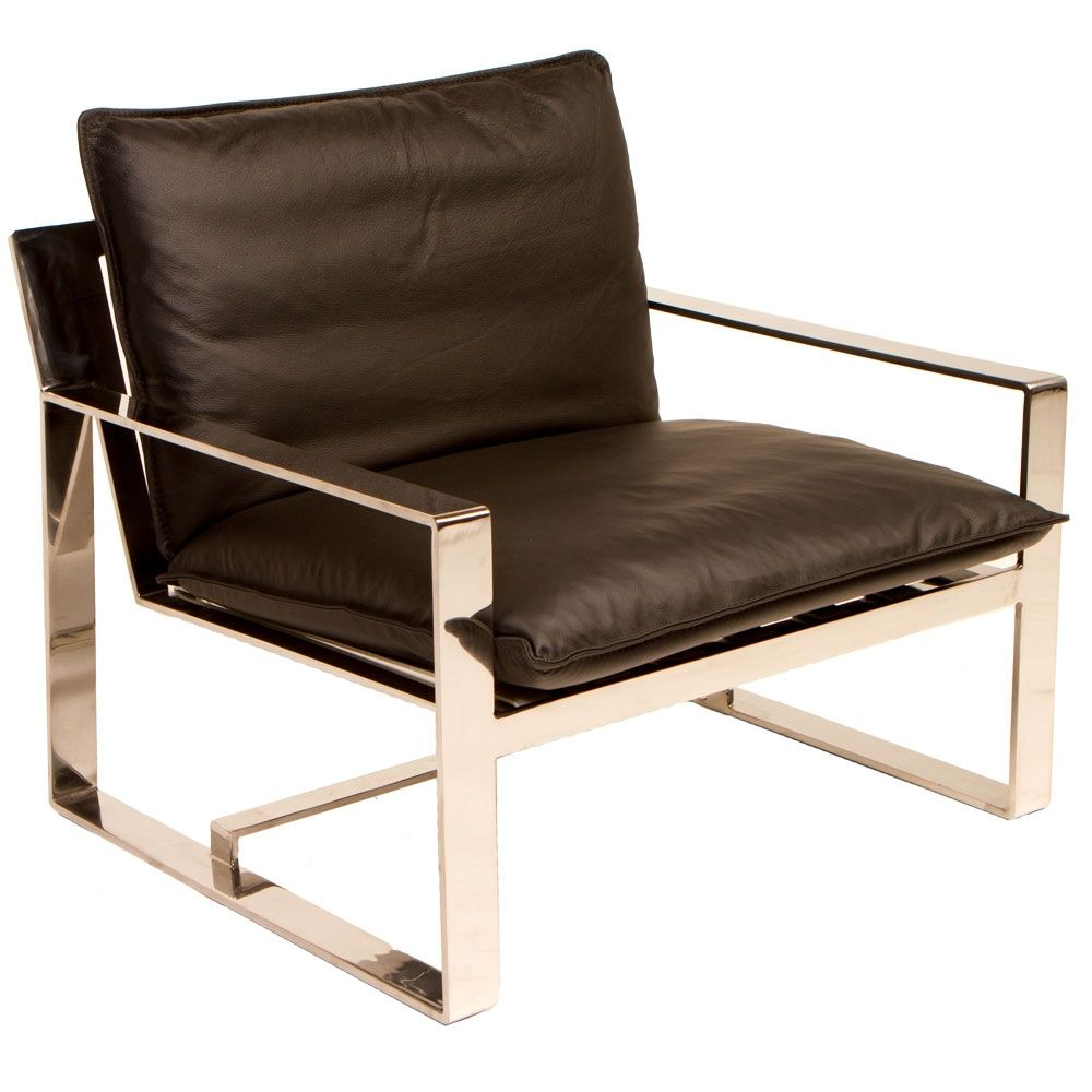 Palermo Arm Chair Love The Hard Lines Statement Furniture  # Muebles Palermo