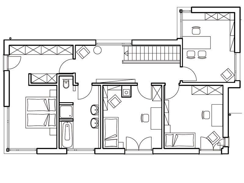grundriss haus modern - Google-Suche | Architektur | Pinterest ...