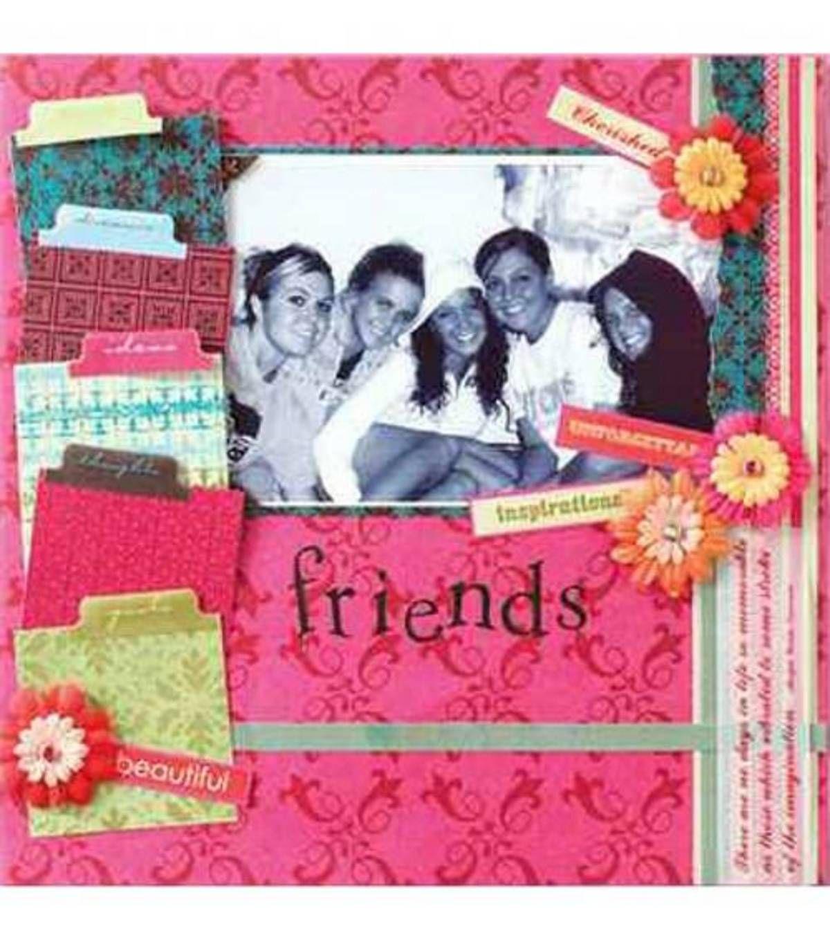 Scrapbook Cover Page Ideas : Scrapbook cover ideas for friend pixshark