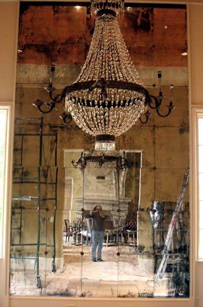 composición candil-espejo amé el espejo!