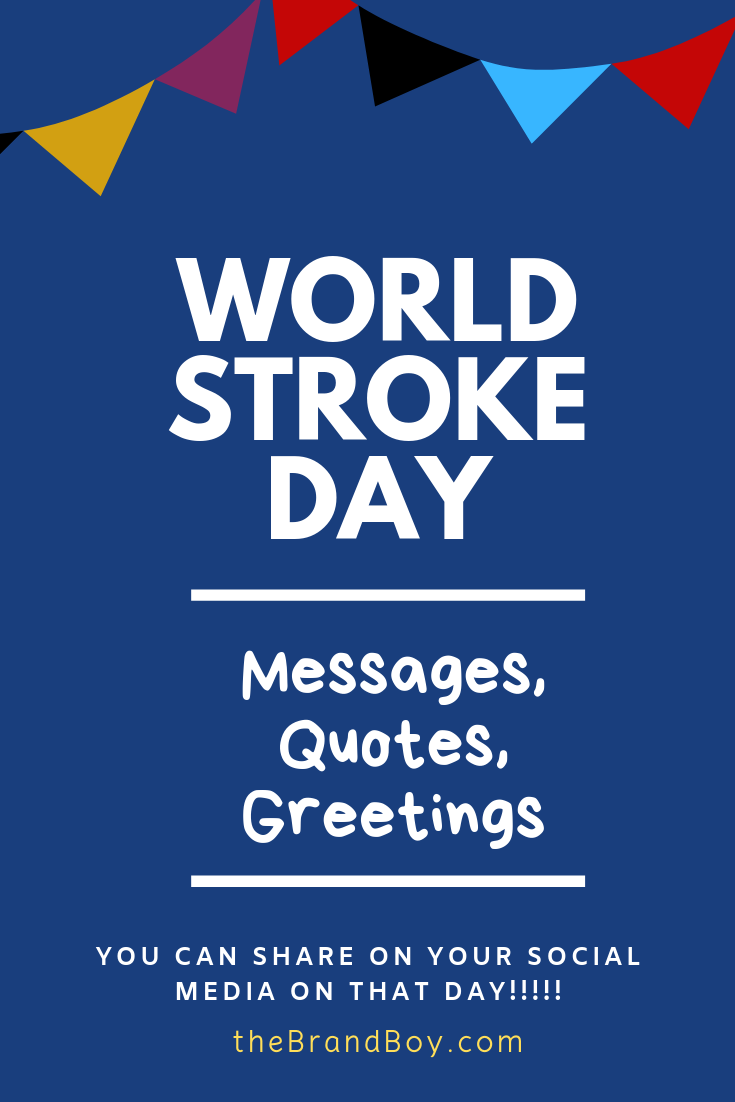 World Stroke Day 81 Best Messages Quotes Greetings World Kindness Day Messages Diabetes Day