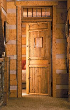 Rustic Cabin Interiors | Rustic Interior Doors