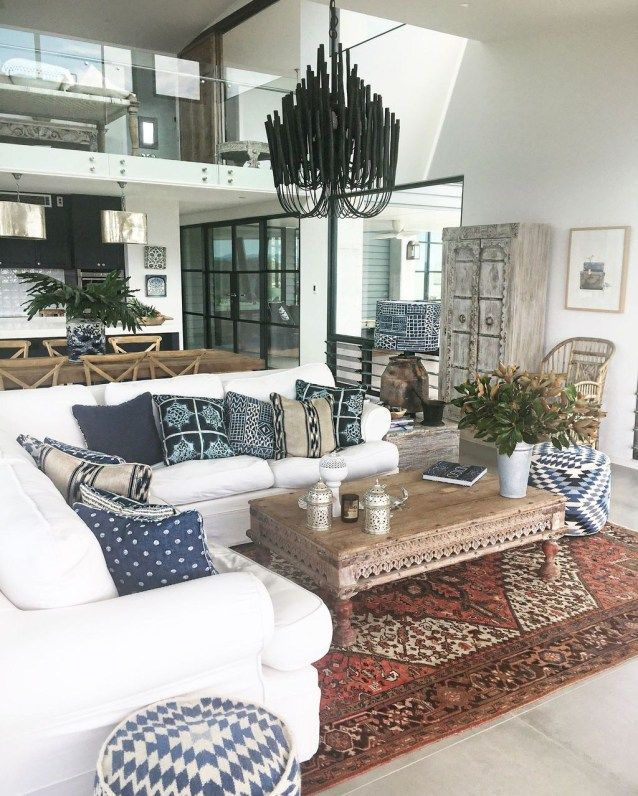 44 Beautiful Persian Rug Ideas For Living Room Decor ...