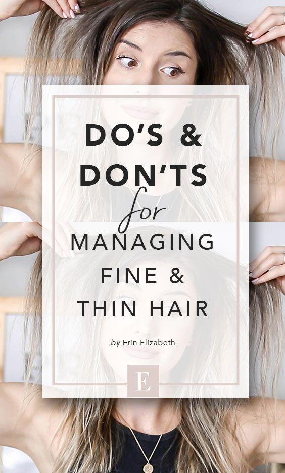 17 fine hair Tips ideas