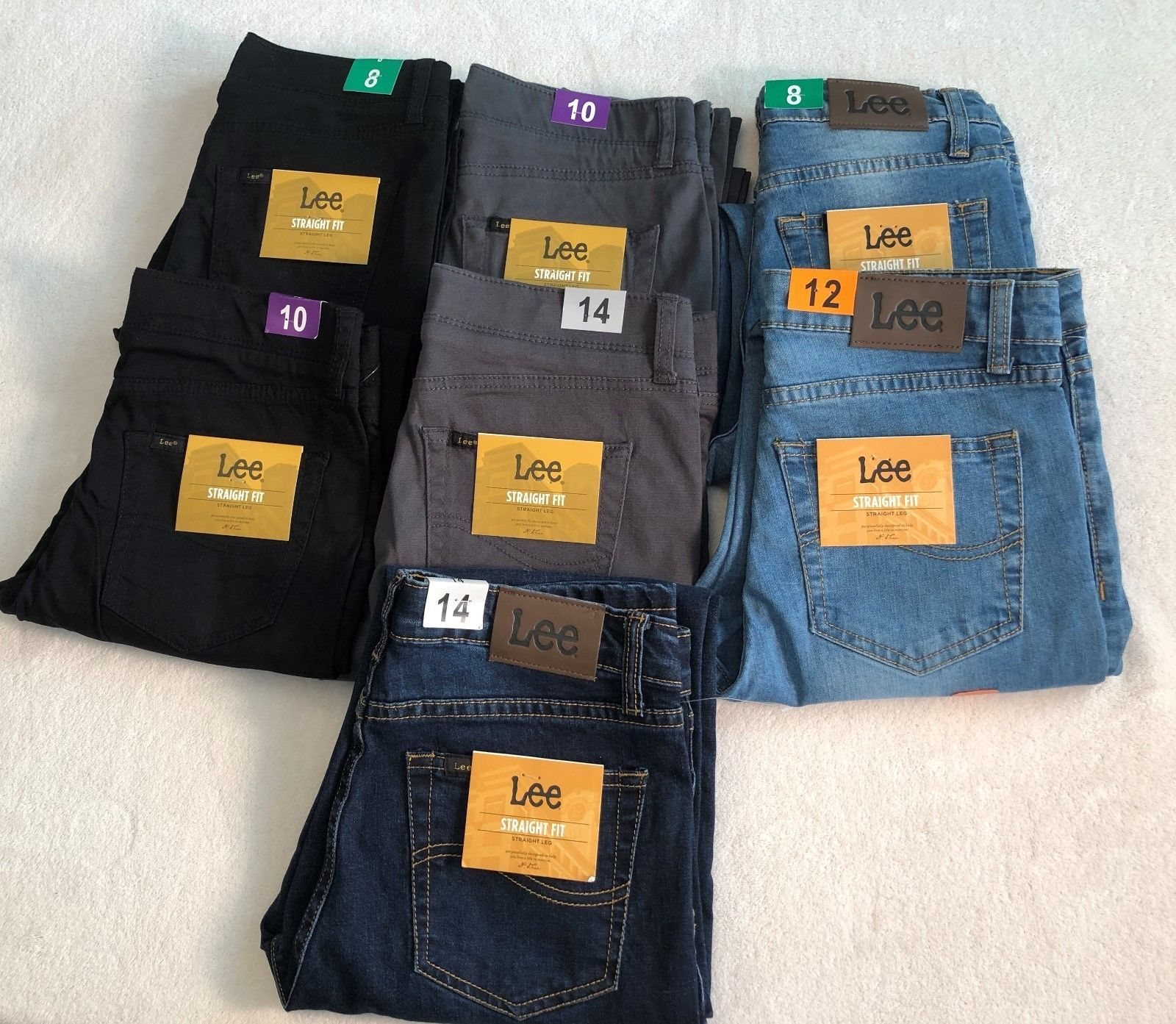 276ed610 Jeans 77475: New Lee Boy S Premium Select Straight Fit Straight Leg Jeans,  Various Sz Colors -> BUY IT NOW ONLY: $15.75 on #eBay #jeans #premium # select ...