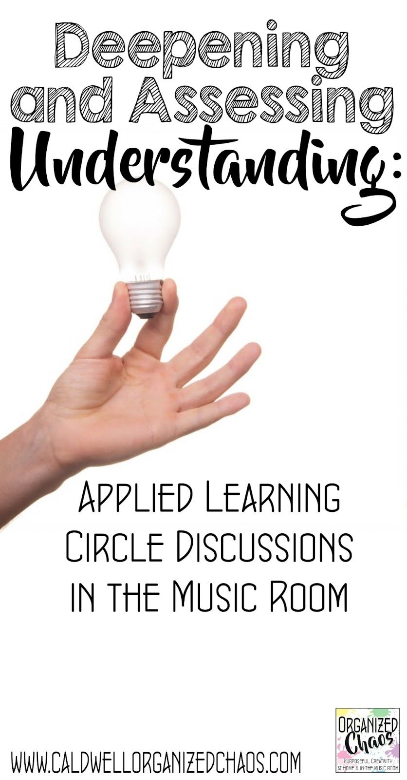 Deepening and assessing understanding applied learning circles