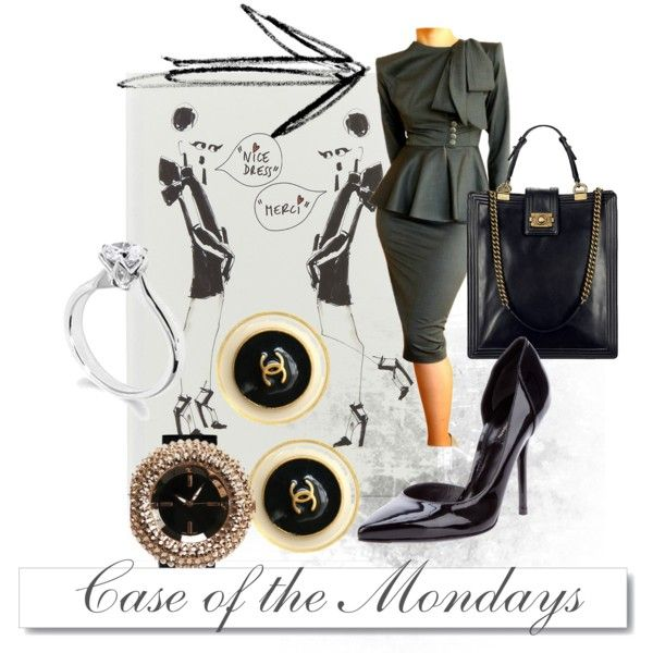 Case of the Monday's, created by theadminpost on Polyvore