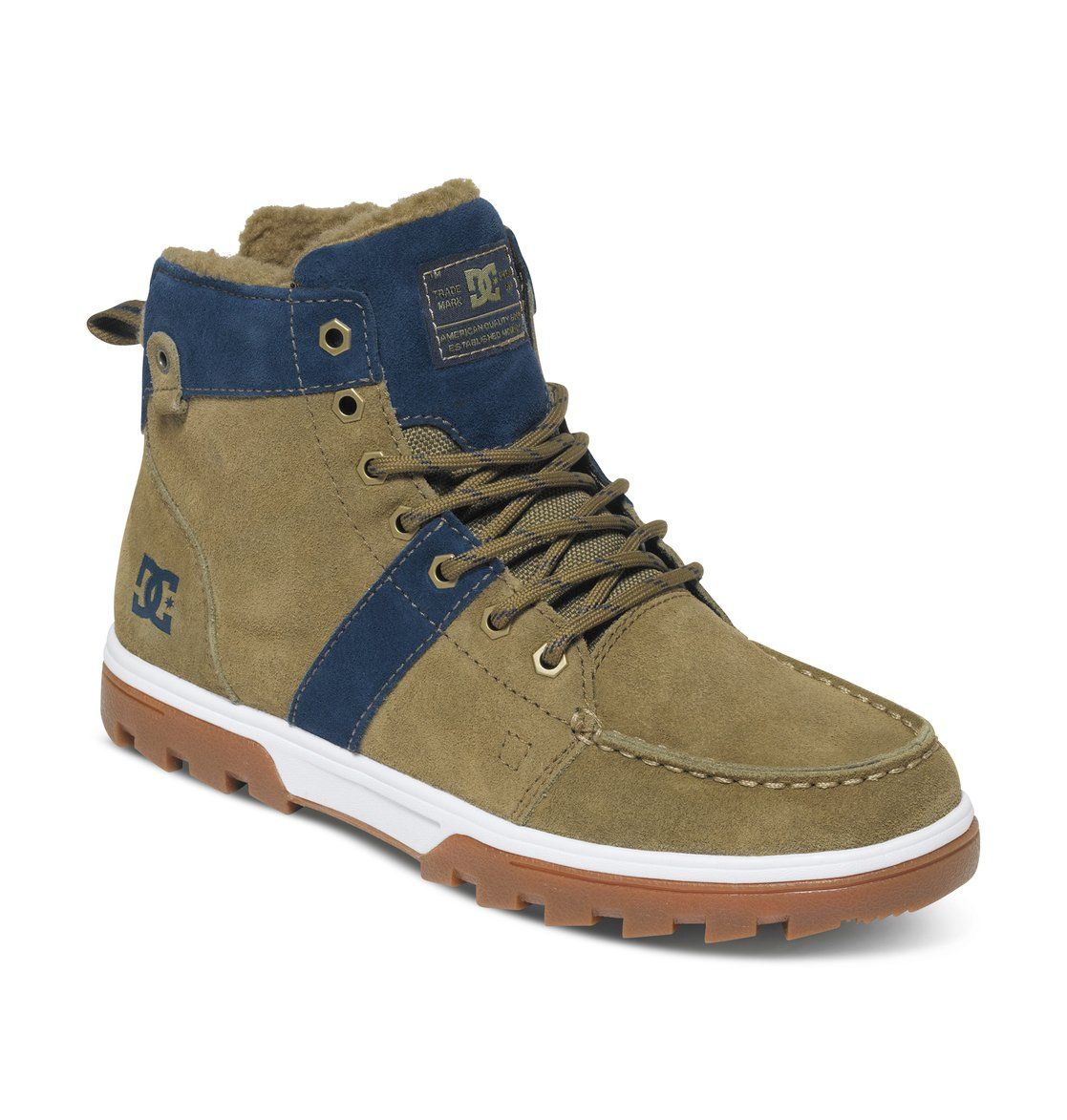 Dc Woodland- Green boots