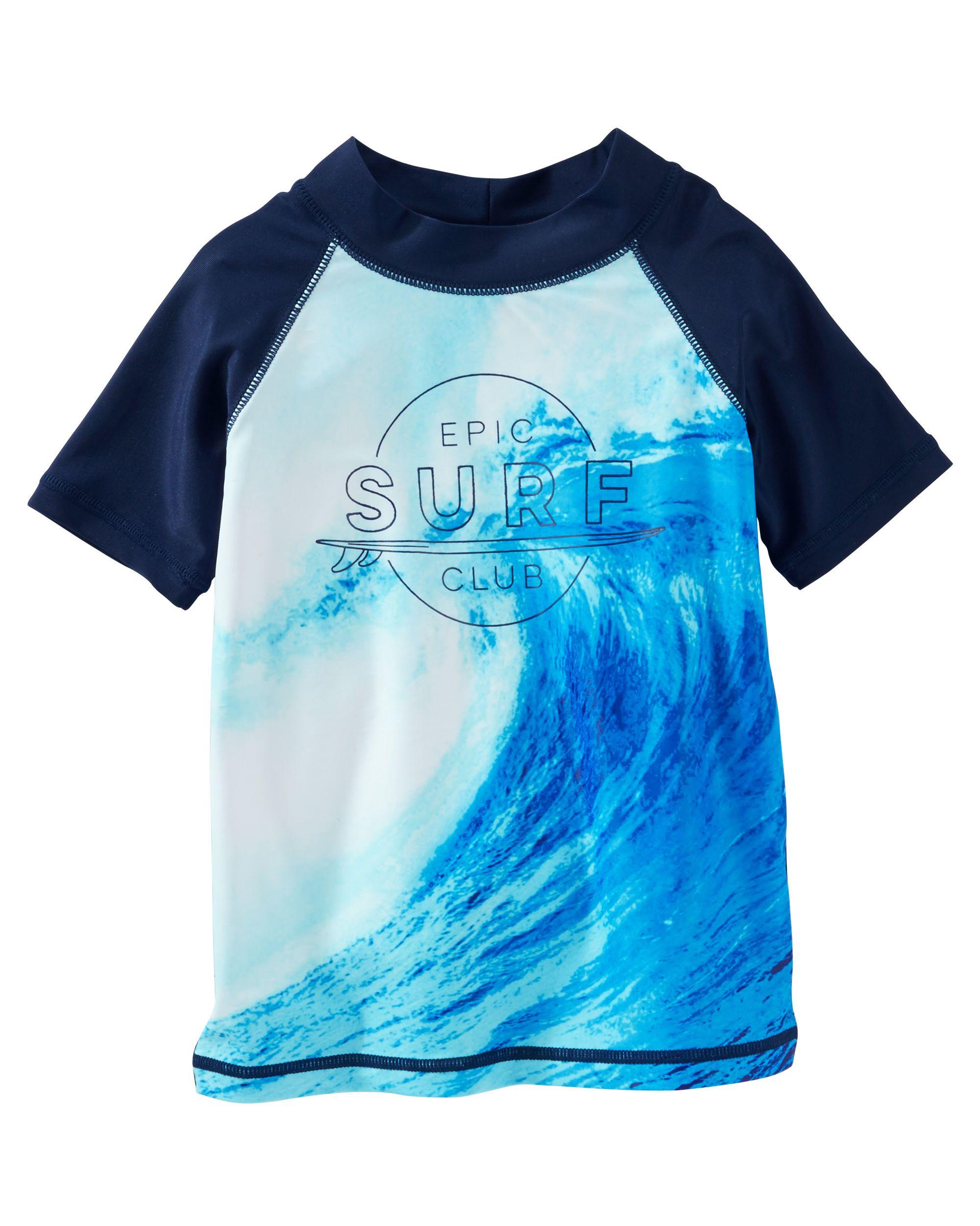 aea496af13 OshKosh Surf Patrol Rashguard | SURF | Rash guard, Boys, Surfing