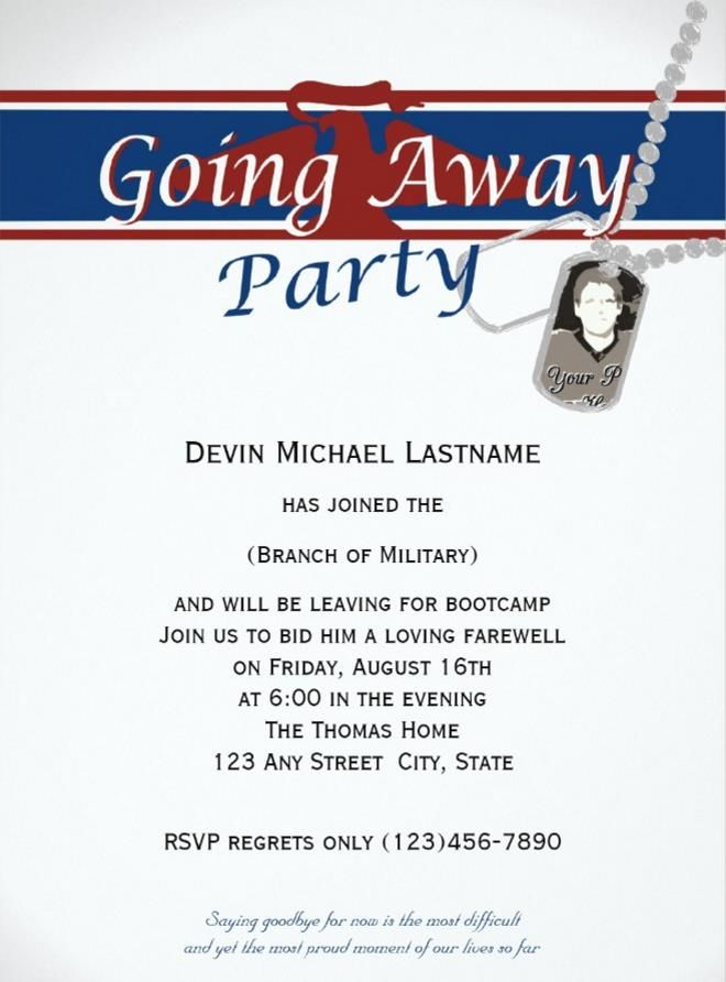 20+ Farewell Party Invitation Templates – PSD,Ai,Indesign,Word | 20+ ...