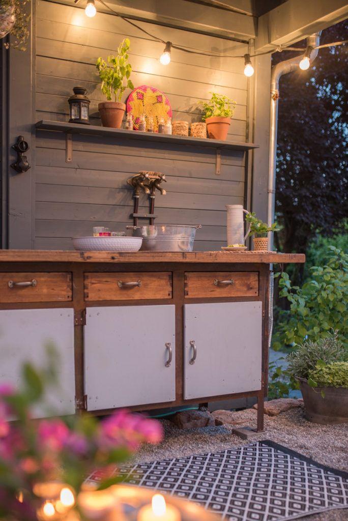 DIY Terrassen makeover - vorher/ nachher (Teil 2