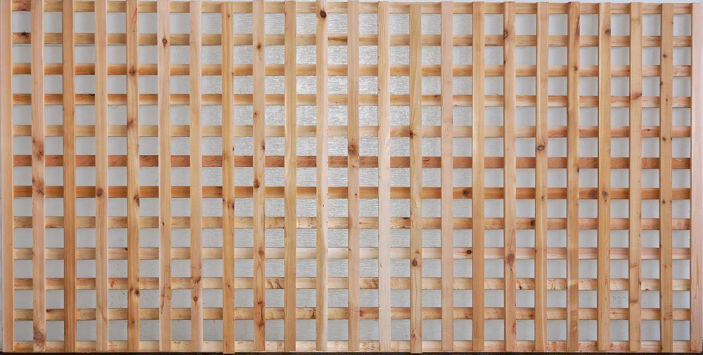 Aim cedar works 4x8 privacy screen the home depot canada