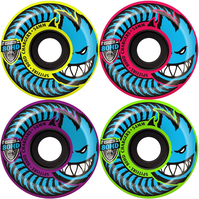 Skateboard Wheels Spitfire Formula Four 99D 54mm Toxic Apocalypse Afterburners Rollen