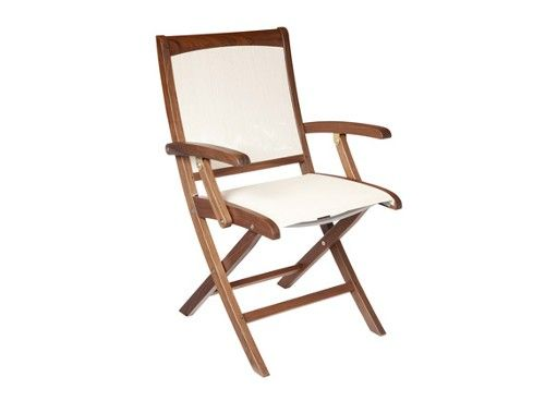 Topaz Folding Sling Chair by Jensen Leisure; a top-seller at Rich\'s ...
