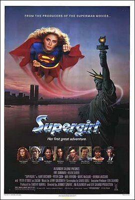 Supergirl 1984 Bigger Sigh Supergirl Movie Supergirl 1984 Helen Slater Supergirl