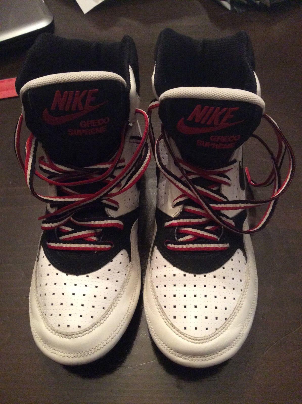 RARE Womans Nike Greco Supreme Wrestling Shoes Size 8 5 | eBay