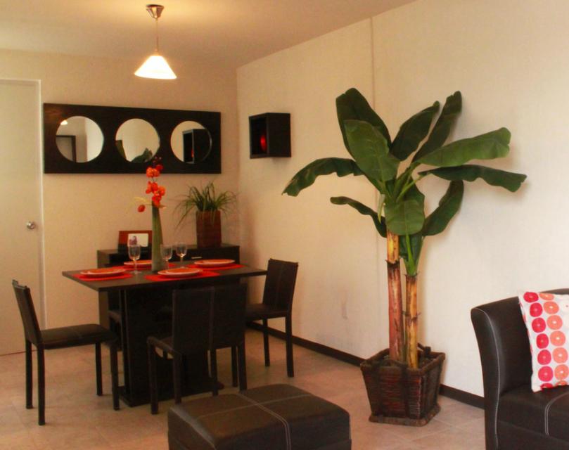 Decoracion de salas comedor para casas de infonavit   buscar con ...