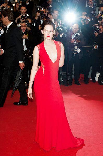 Kristen Stewart in Reem Acra 2012 Cannes Film Festival