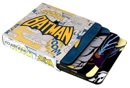 [Import Anglais]Batman Coaster Set Of 4 di Half Moon Bay, http://www.amazon.it/dp/B003QXU3PU/ref=cm_sw_r_pi_dp_X07Ksb10PK5JX