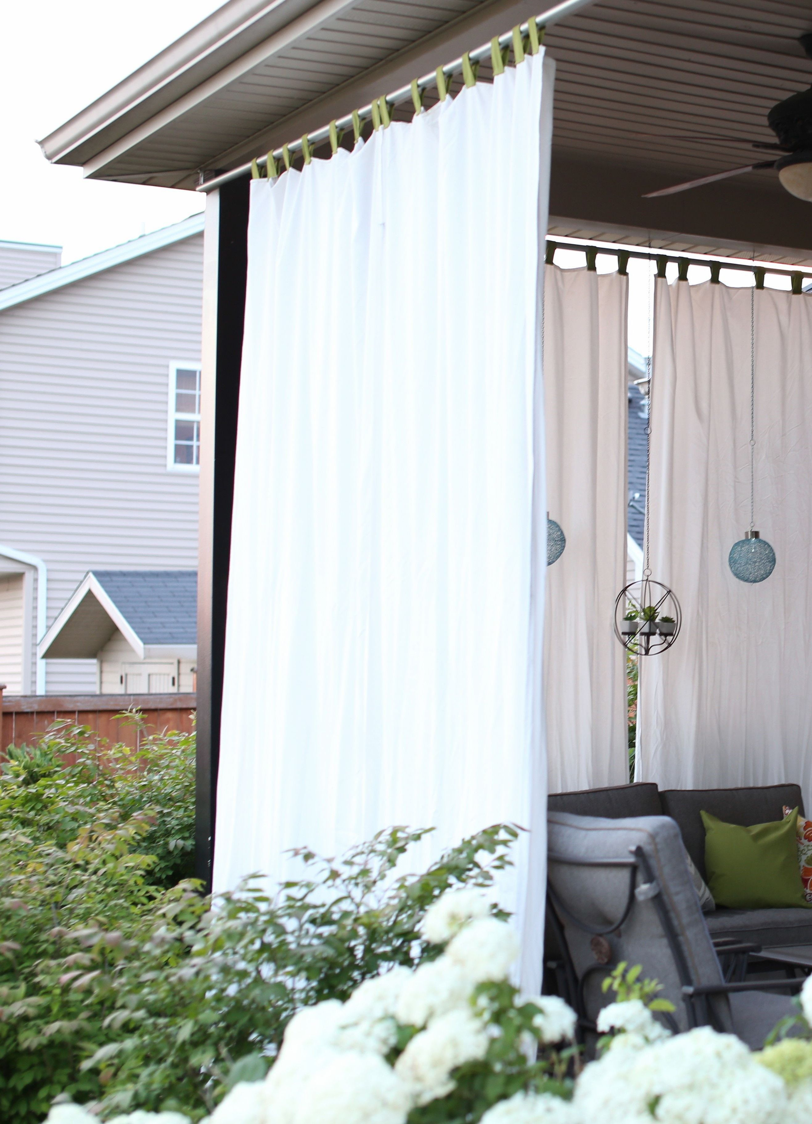 Stylish Ways To Decorate Patio Curtains Indoor Inspire You