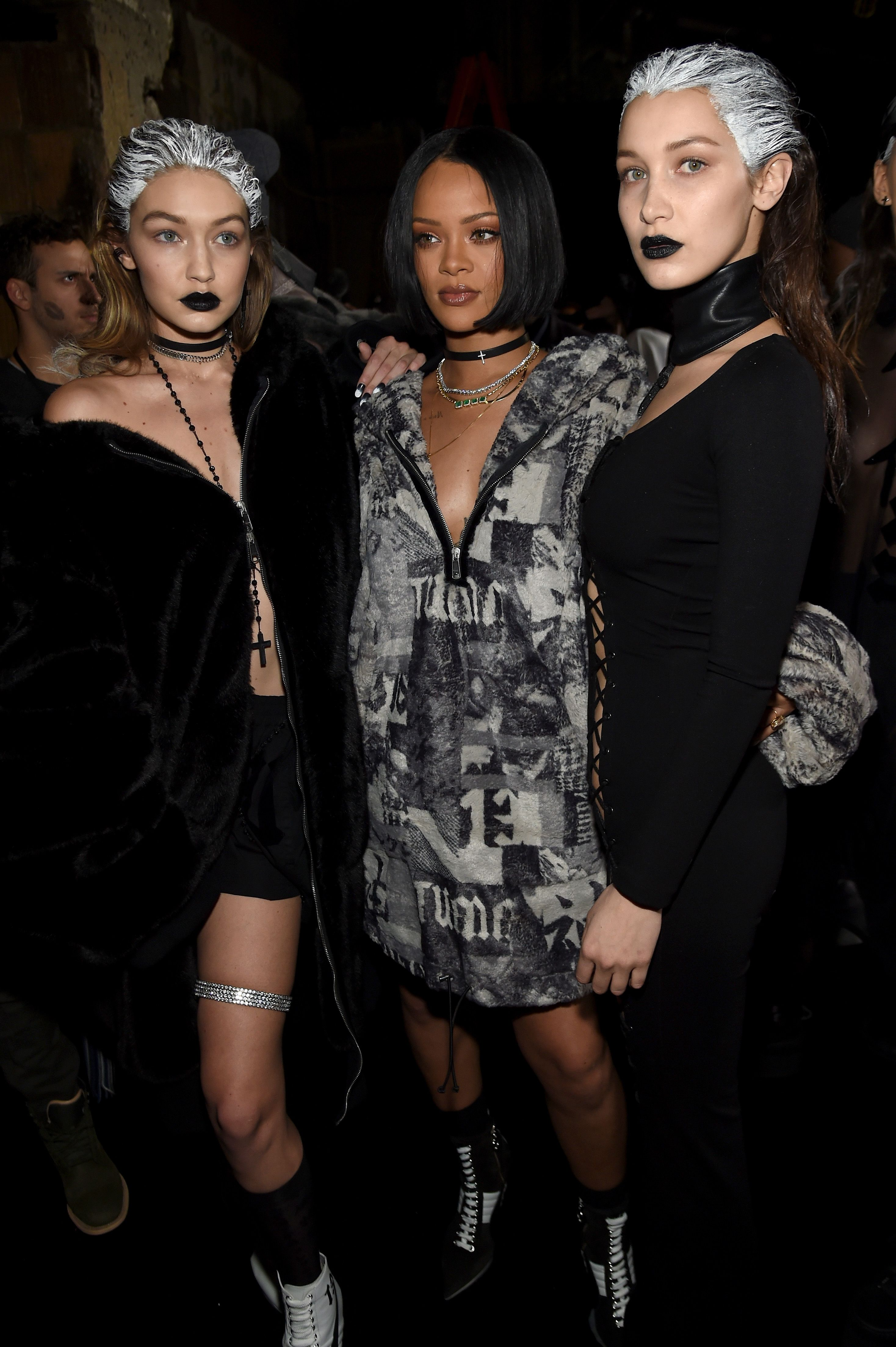 Bella Hadid Wears the Sexiest Dress Weve Ever Seen at