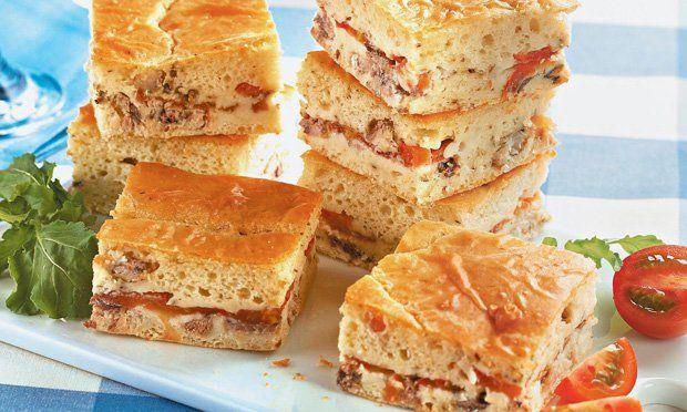 Torta expressa de sardinha