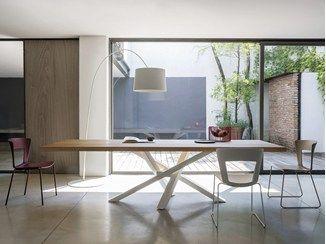 Tavolo acciaio ~ Fatto a mano legno recuperato acciaio tavolino di madefromwoodd