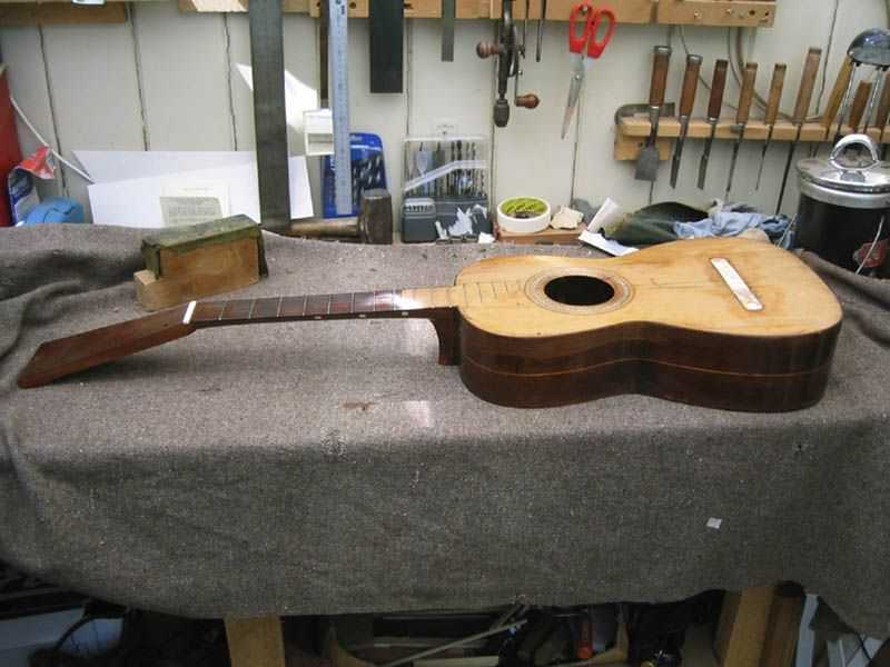 Josef Pages Guitar Repair Rohan Lowe Fine Guitars Guitar Luthier Workshop Repair