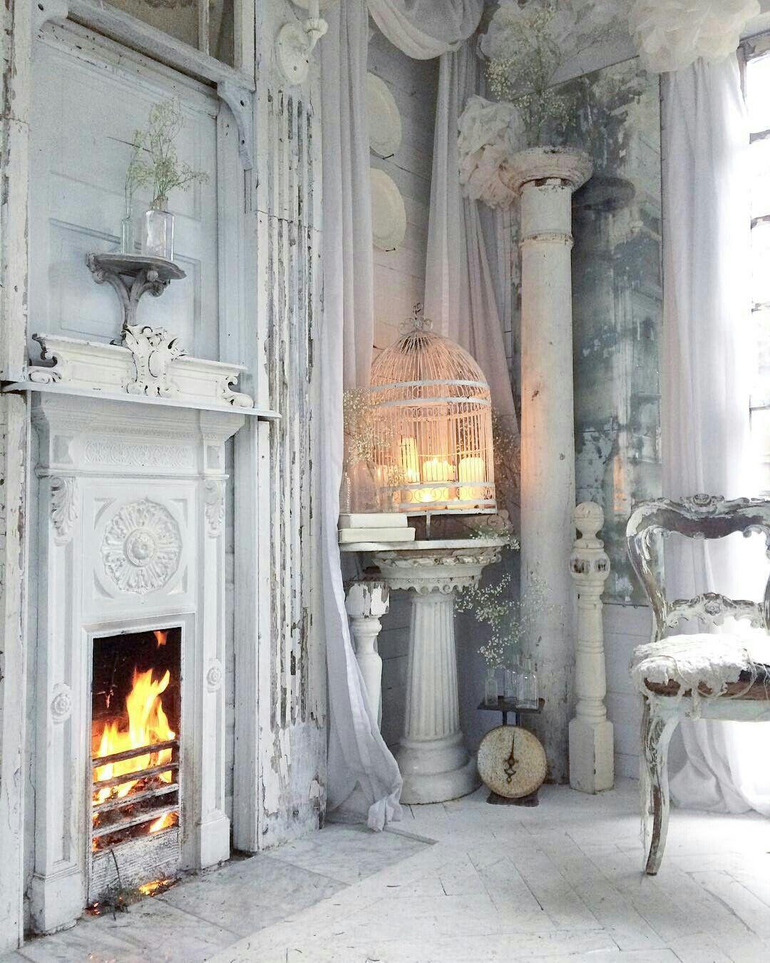 French country shabby chic e brocante interni casa for Arredamento francese shabby
