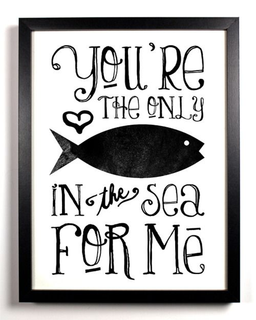 only fish
