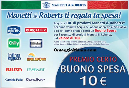 Manetti&Roberts ti regala la spesa - http://www.omaggiomania.com/omaggi-con-acquisto/manettiroberts-ti-regala-spesa/