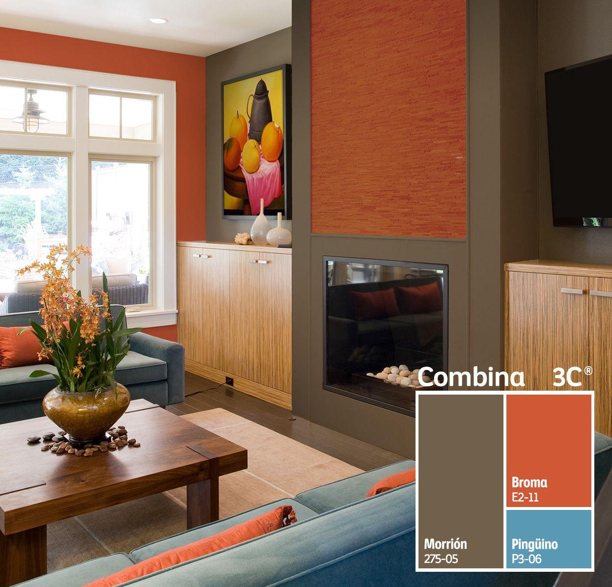 Encuentra La Mejor Personalidad Para Tu Sala Con Combina3c Te  ~ Combinacion De Colores Para Paredes