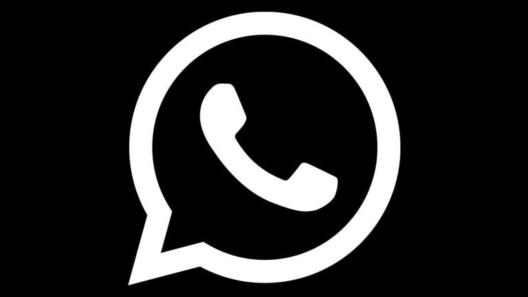 All Of The Live Forever | Whatsapp Icon Black And White