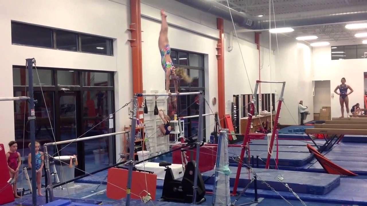 Level 4 Bar Routine Gymnastics routines, Gymnastics
