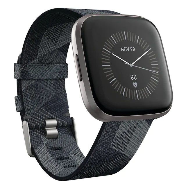 Fitbit Versa 2 Special Edition Smartwatch with Woven Band ...