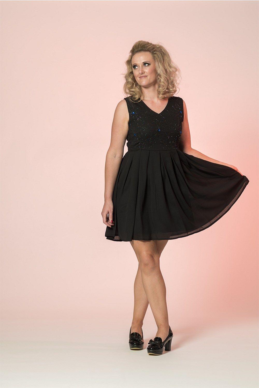 Lujoso Black Cocktail Dress Shoes Bosquejo - Colección de Vestidos ...