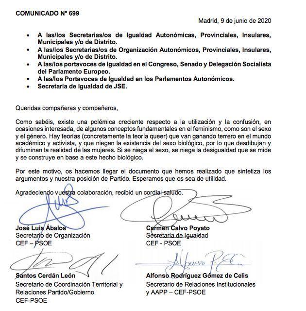EL HUFFPOST. PSOE