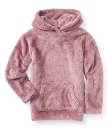 fuzzy fleece pullover hoodie from aeropostale  e9364d91560a