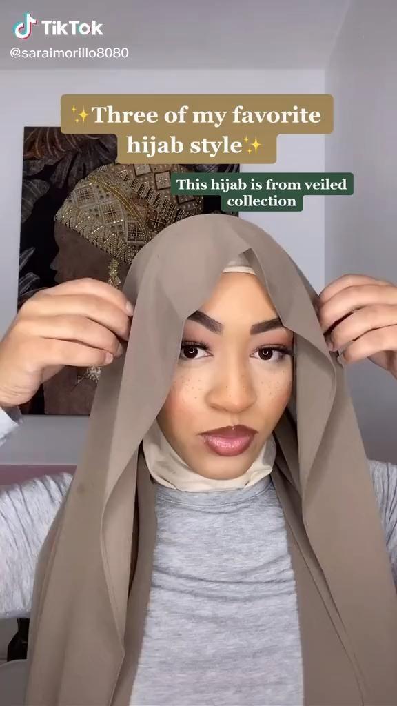 Video Sarai Morillo Saraimorillo8080 On Tiktok Gaya Jilbab Gaya Hijab Riasan Wajah Bulat